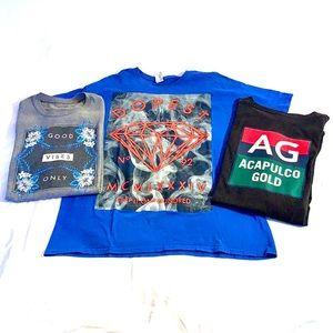 ✨3/$15 Bundle of 3 T-shirts